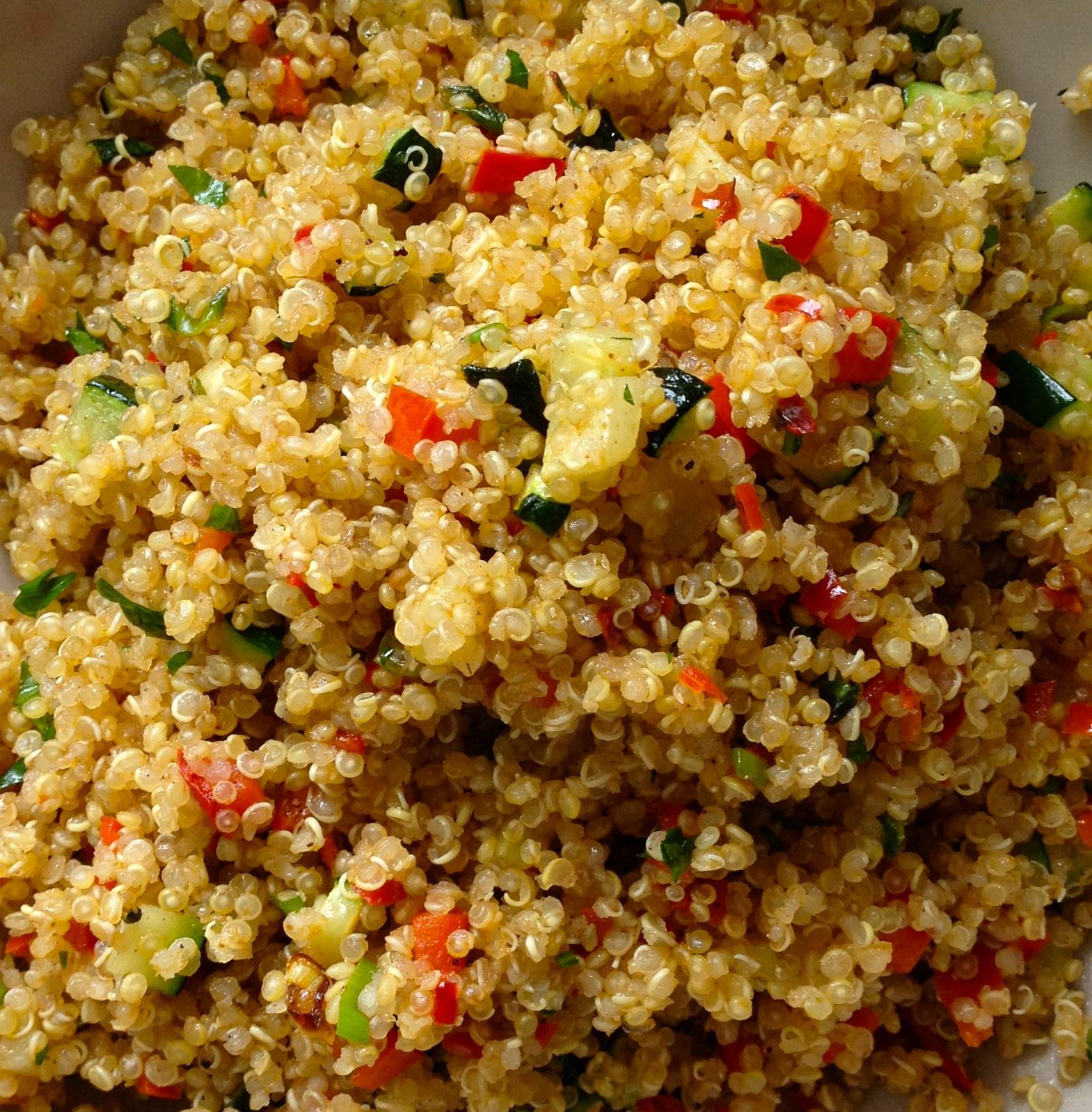 Quinua + Vegetales + Ras el Hanout - 05
