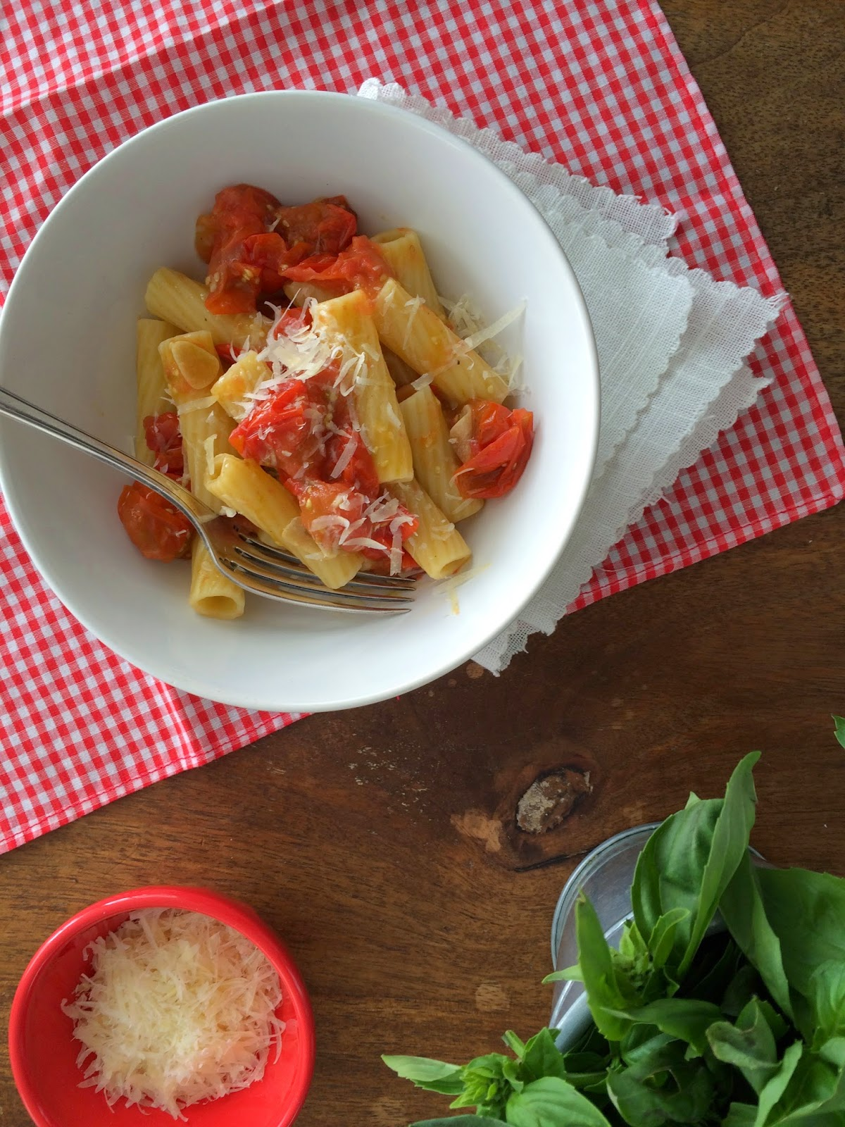 Pasta + Tomates Caramelizados - 05