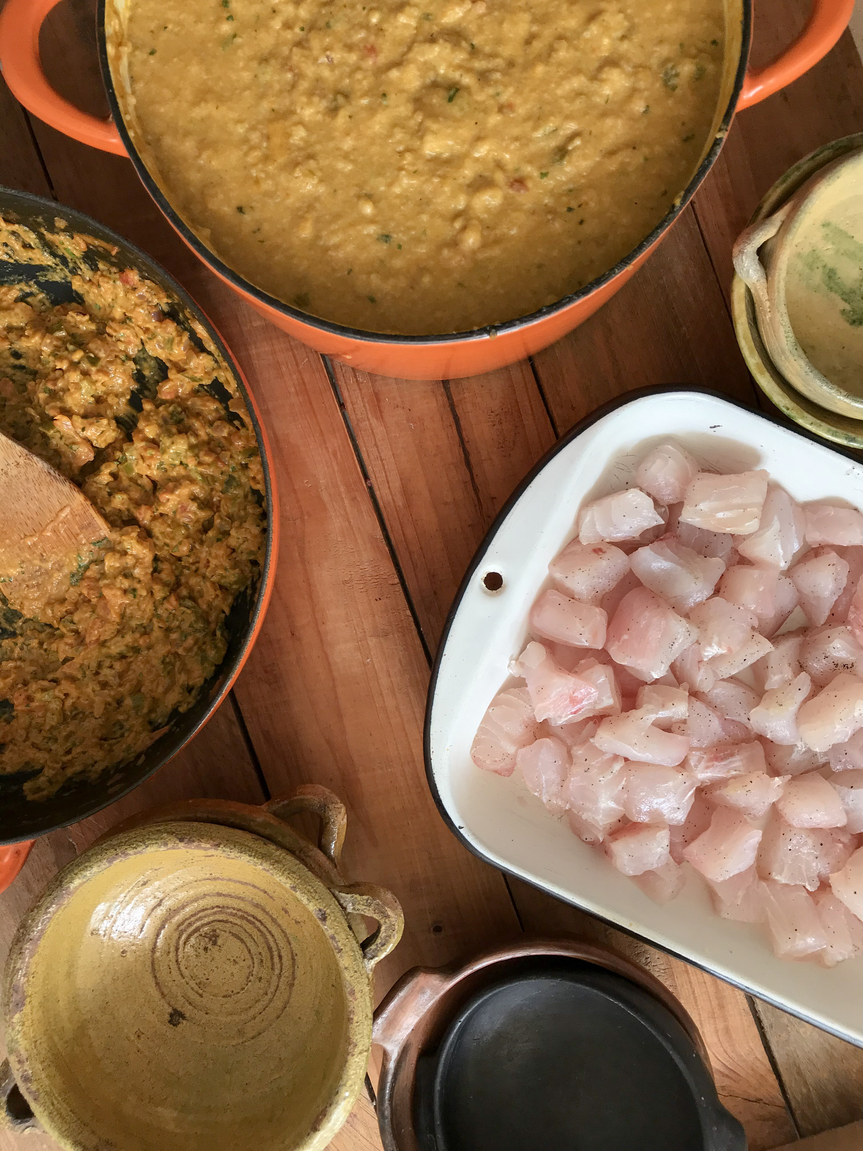 cazuela de verde pescado