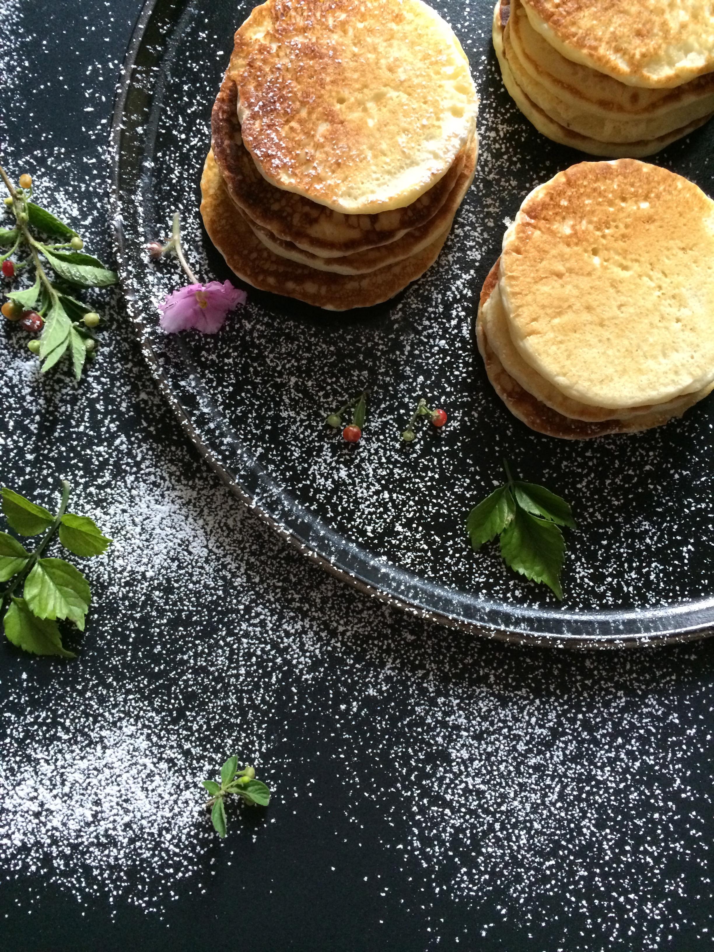 pancakes, tortitas, panqueques
