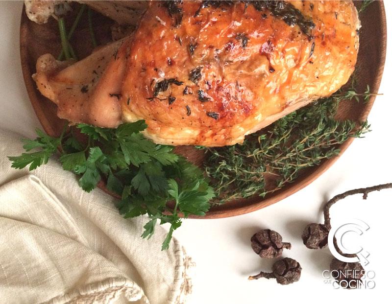 La mejor receta de pavo para Acción de Gracias El