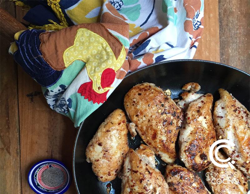 pechugas de pollo con especias