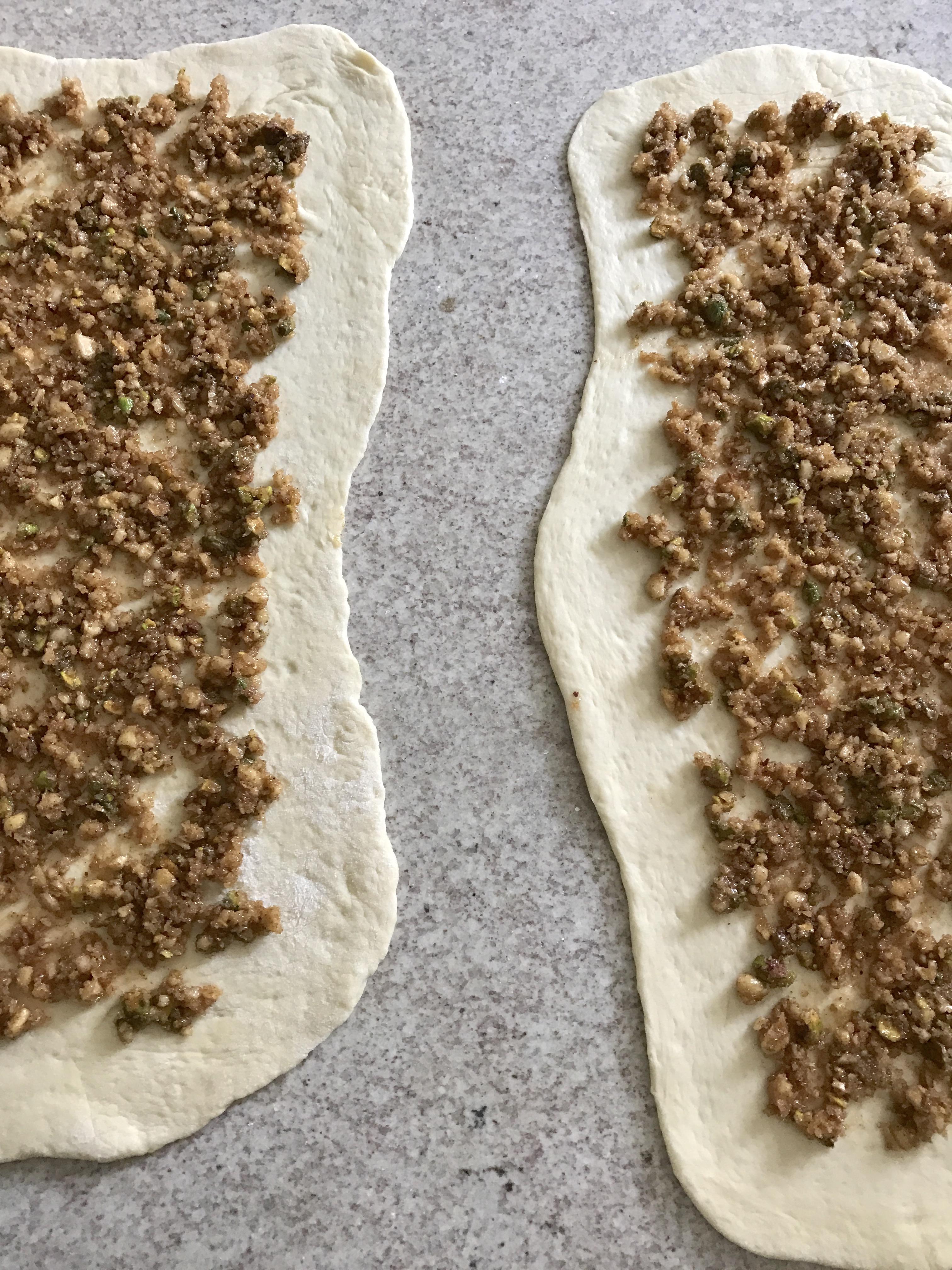 pan de canela y frutos secos