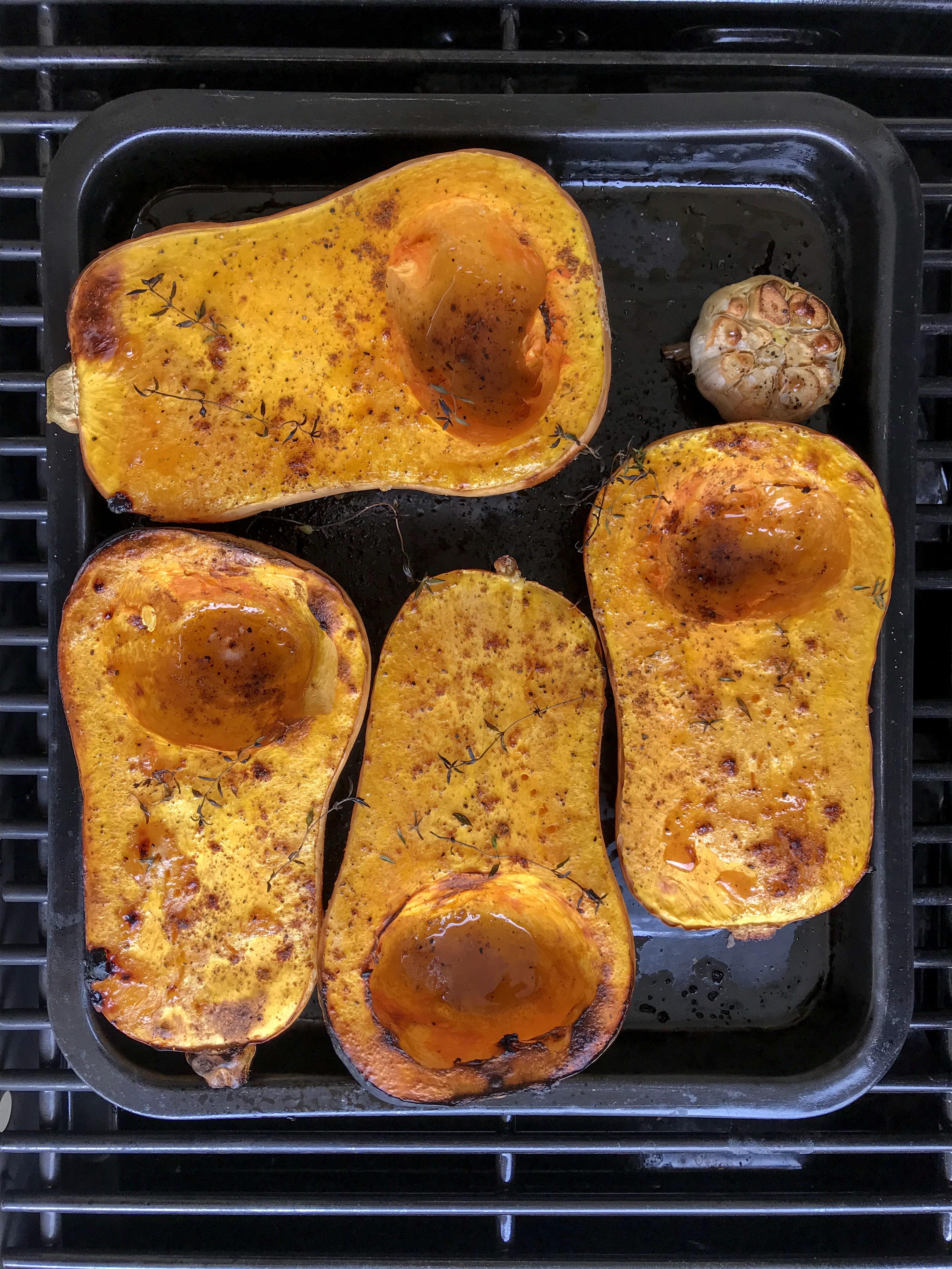 hummus de zapallo asado