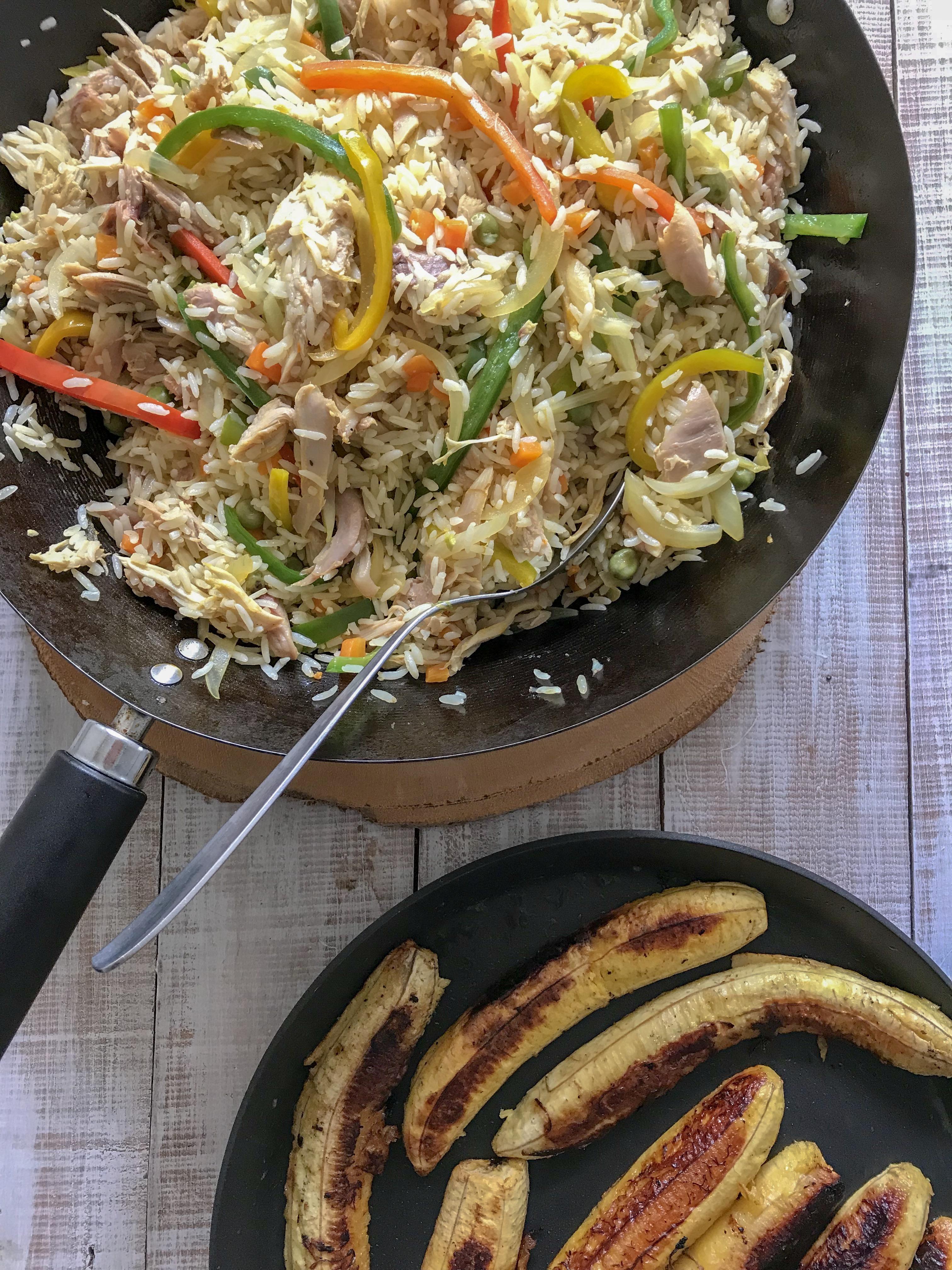 arroz con pavo
