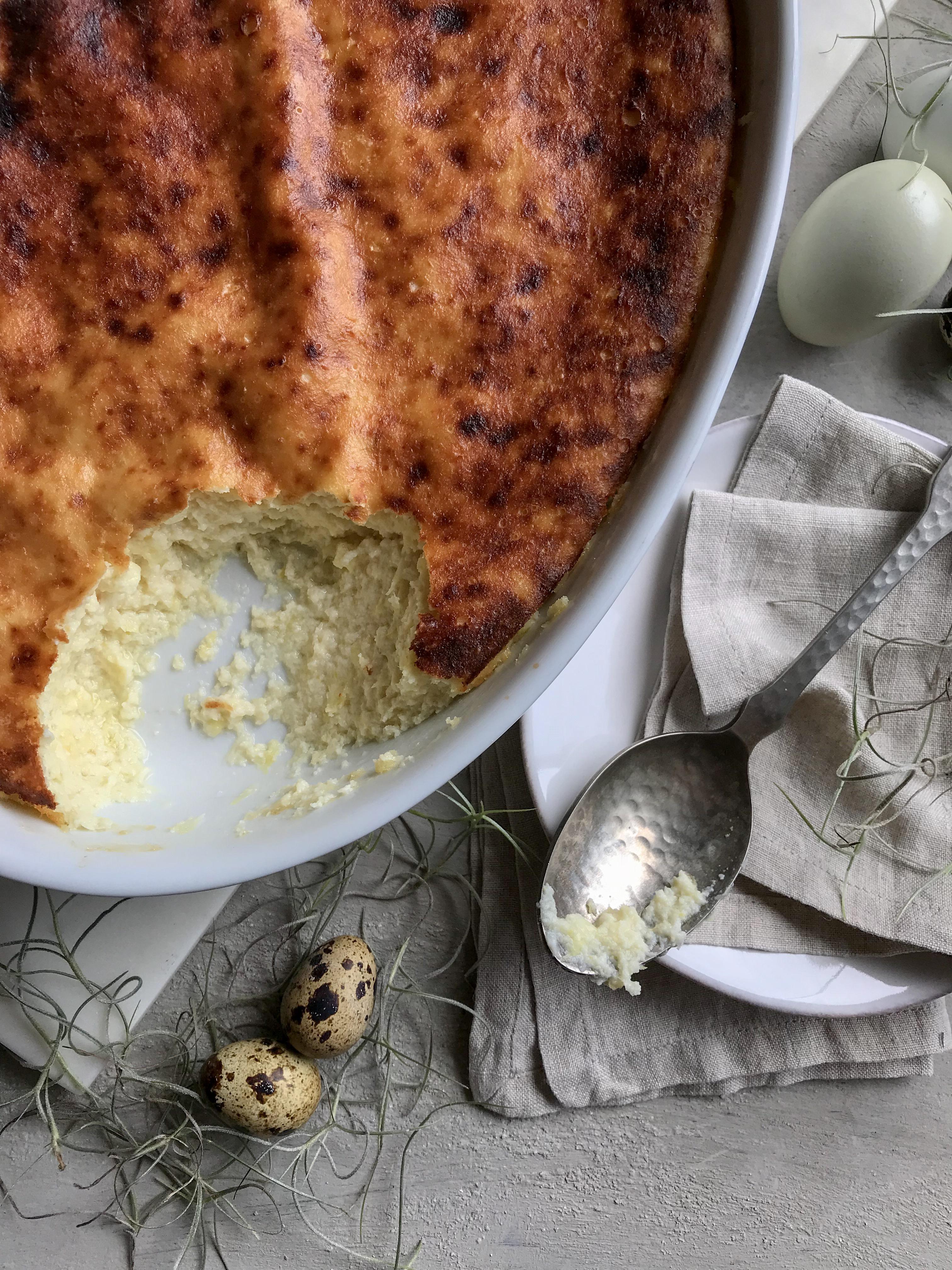 torta de choclo y queso