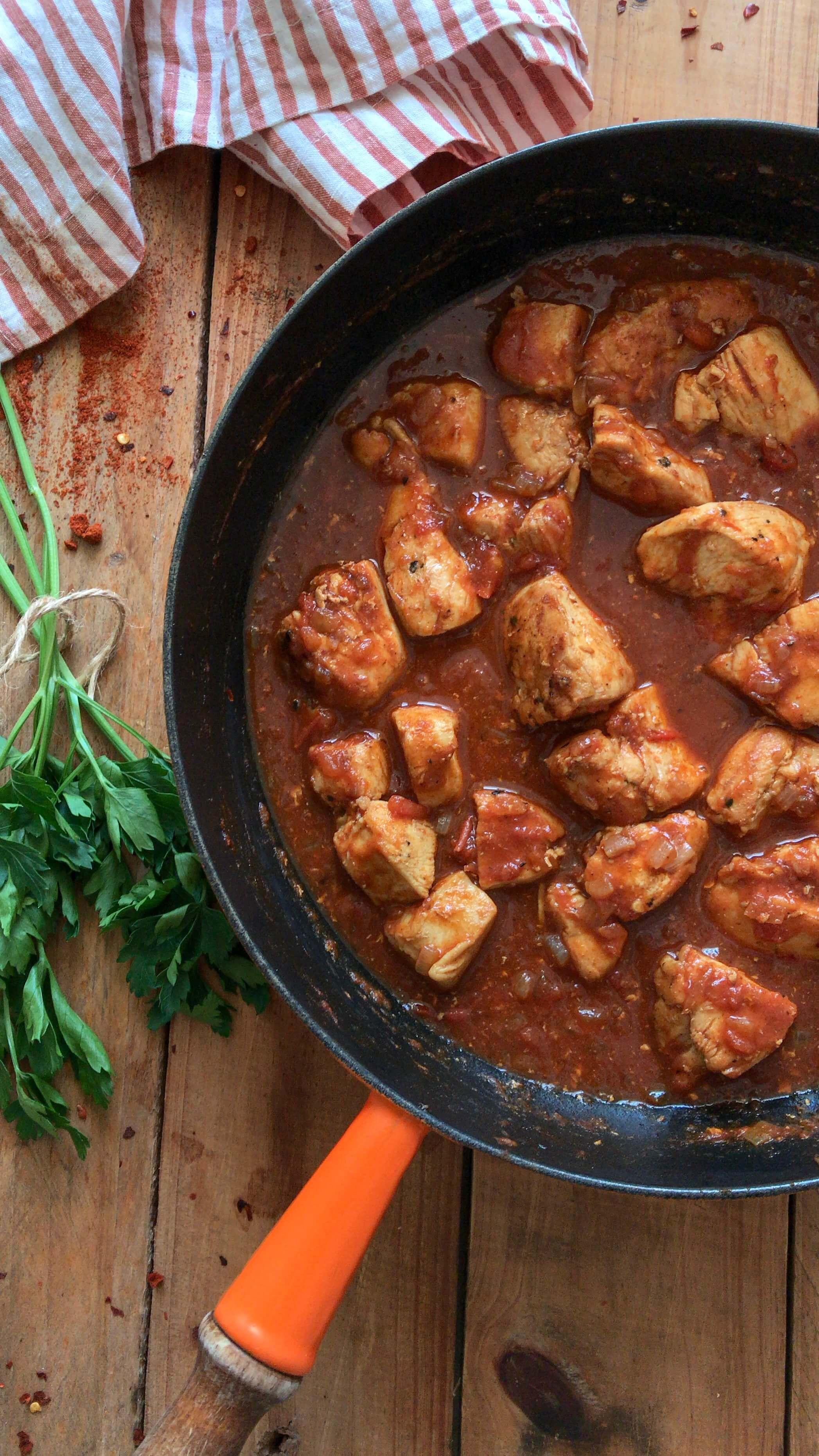 paprikash de pollo