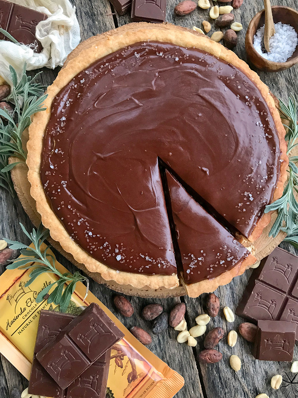 tarta chocolate caramelo salado