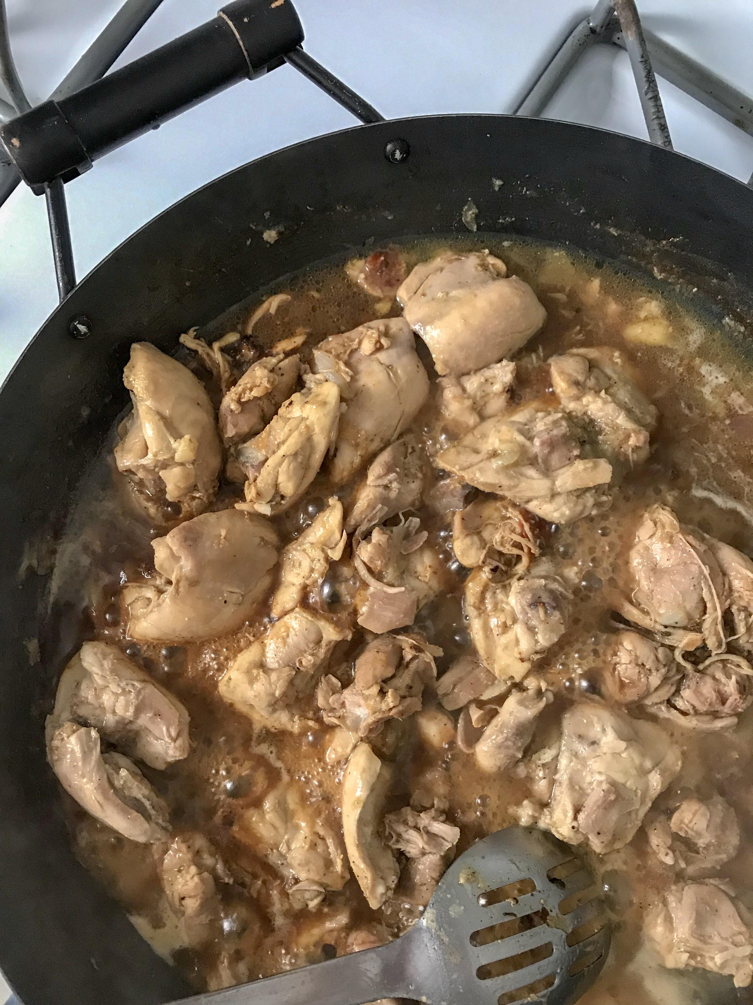 fritada de pollo