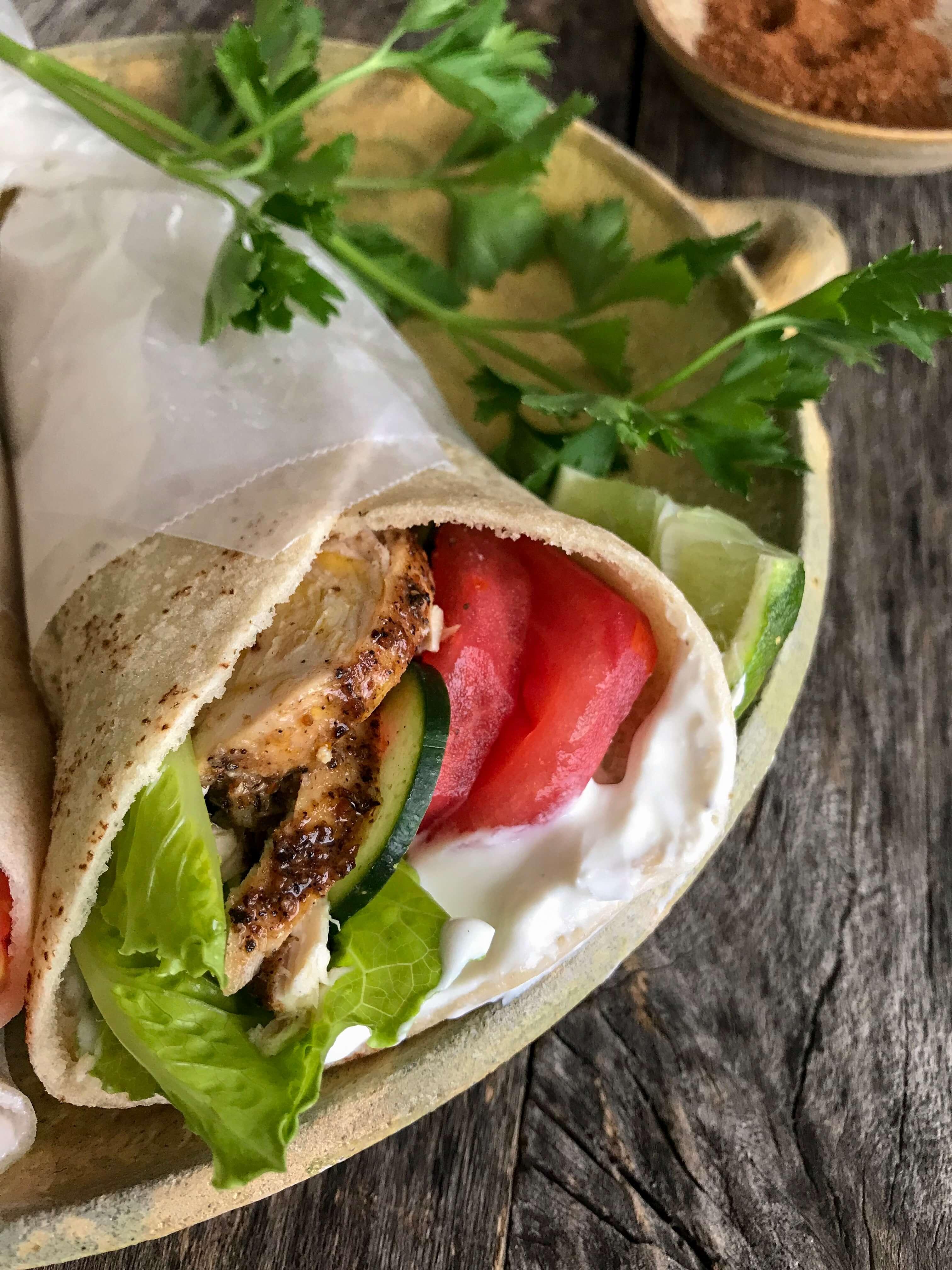 shawarma pollo