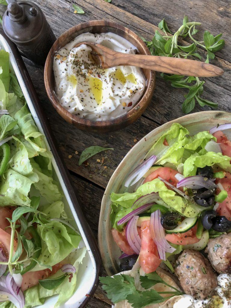 albondigas de carne estilo griegas