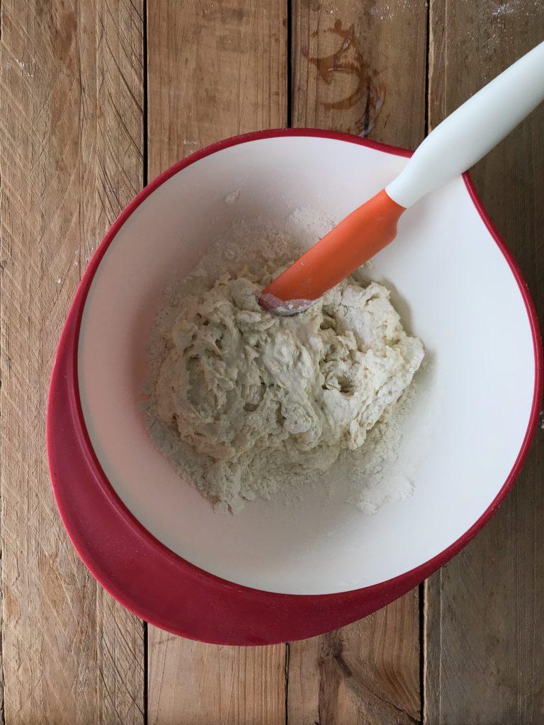 pan plano de yogur