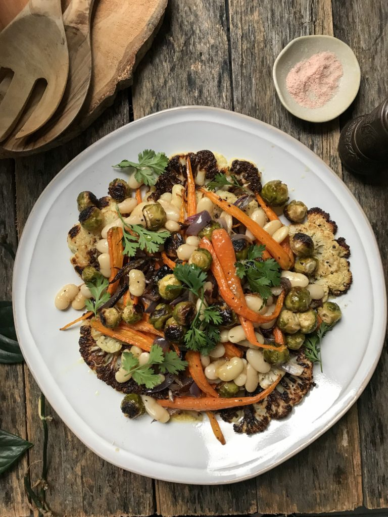 ensalada verduras asadas