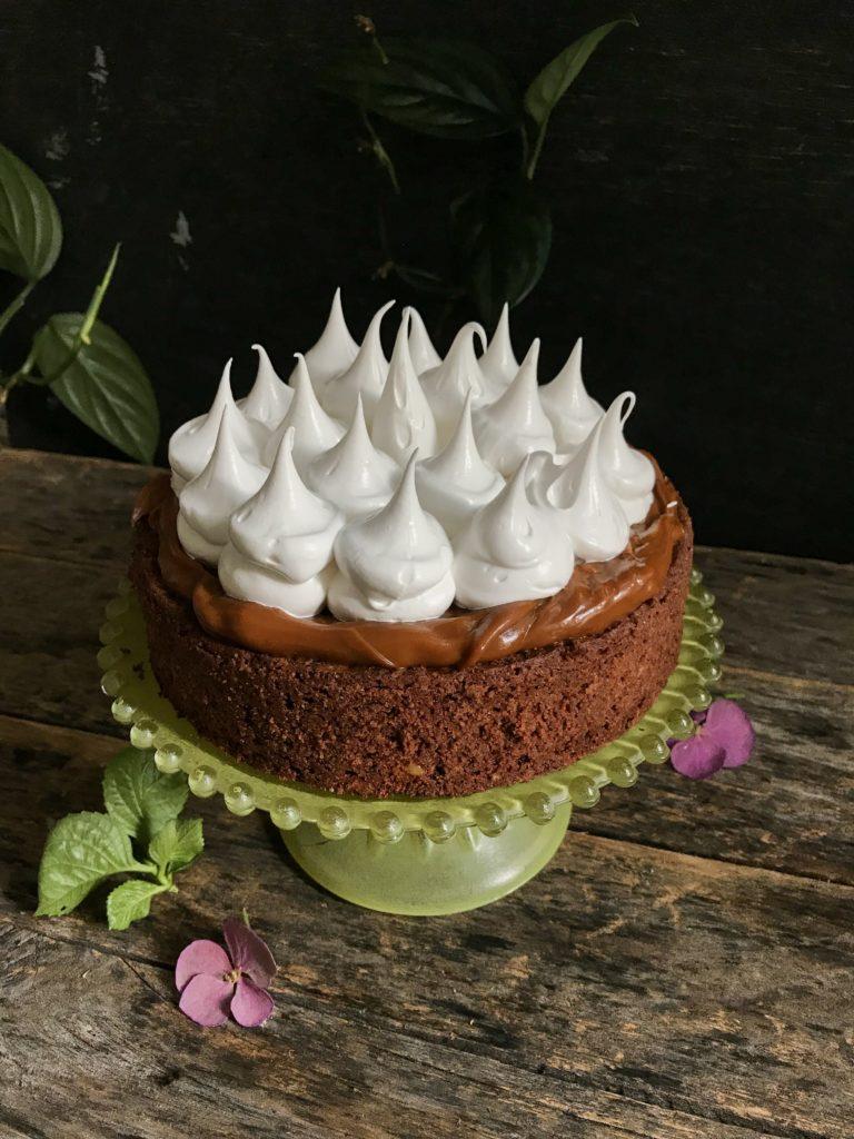 torta de brownie