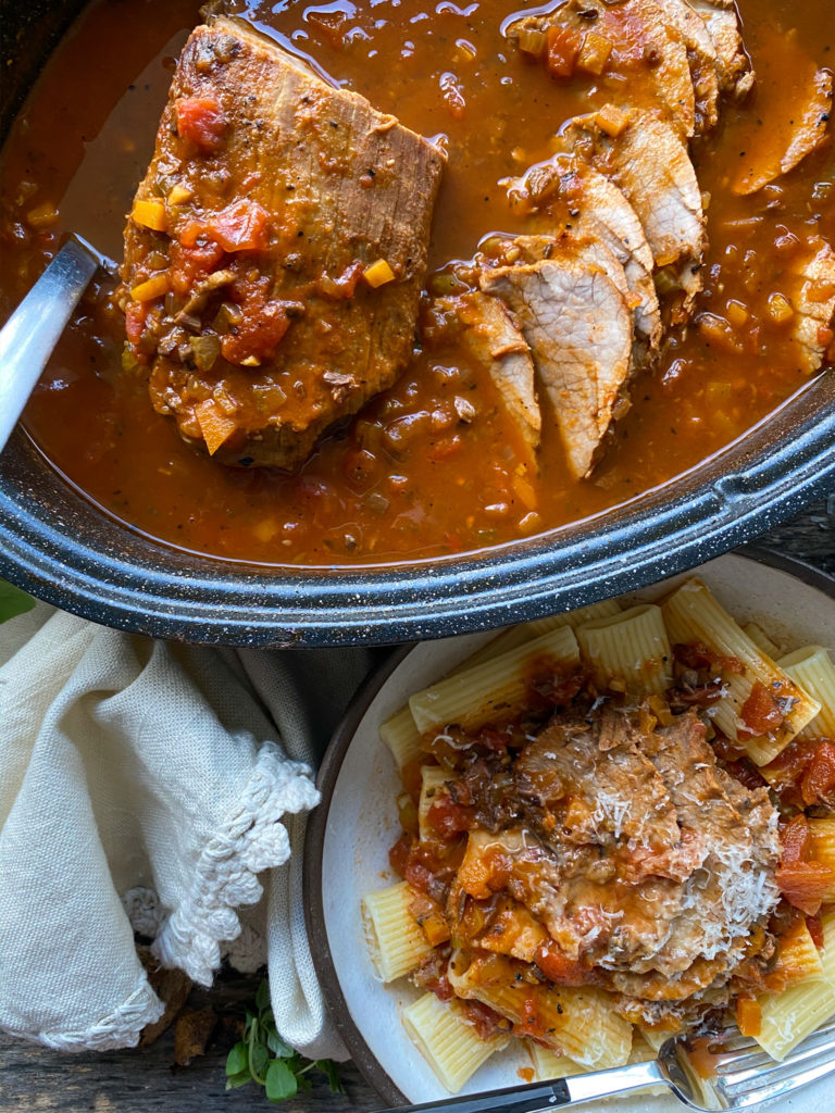 salsa de tomate con carne